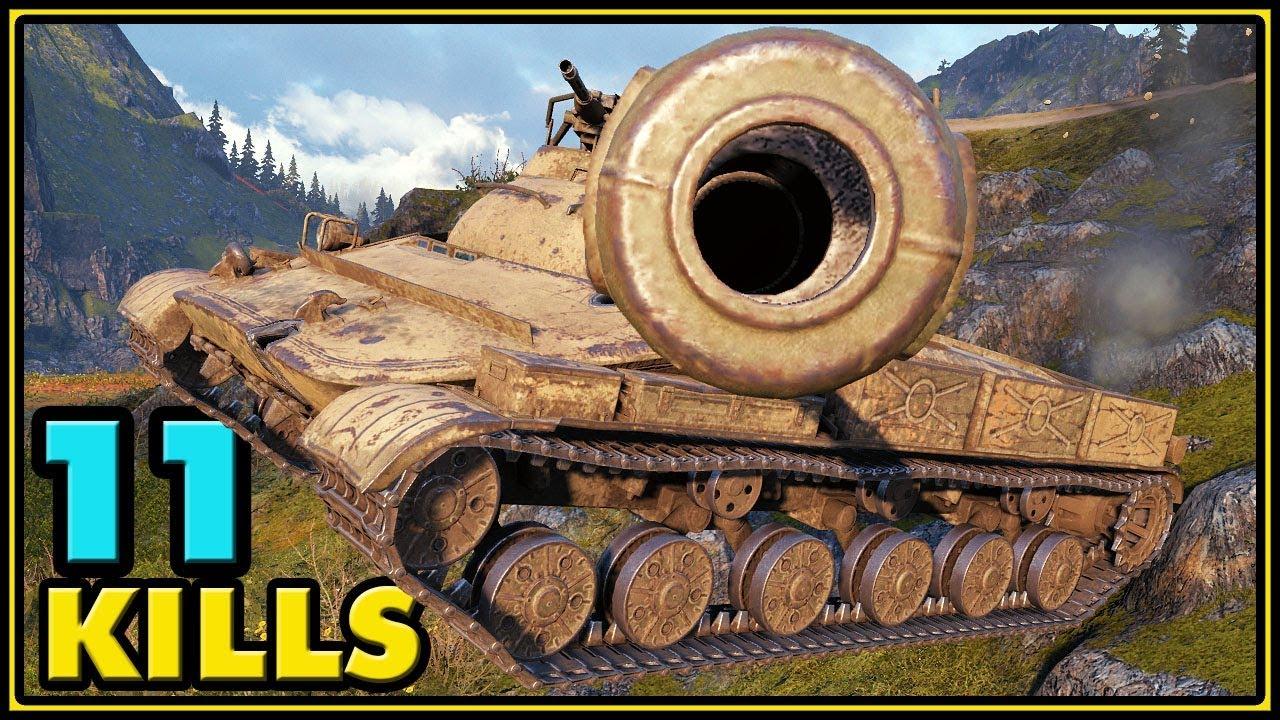 Object 907 - 11 Kills - World of Tanks Gameplay - Video - ViLOOK