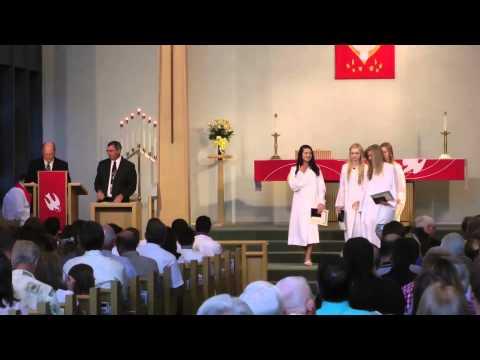 Trinity Lutheran School 8th Grade Graduation (Part 1)