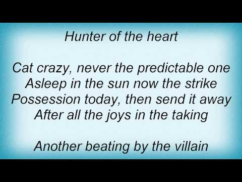 Dio - Hunter Of The Heart Lyrics
