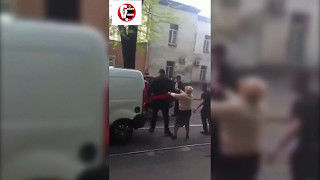 ROAD RAGE IN RUSSIA WITH KO