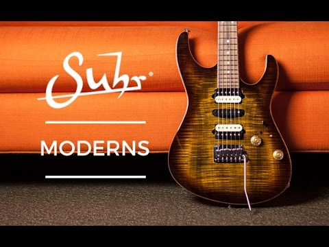 Suhr Modern Guitars At The Music Zoo