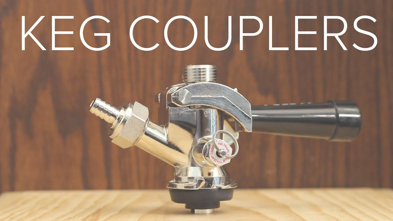 Keg Couplers for Draft Beer Systems - YouTube