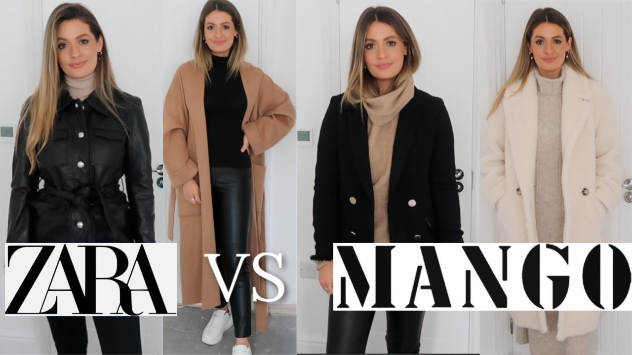 [VIDEO] - NEW IN ZARA VS MANGO TRY ON HAUL - AUTUMN FALL WINTER 2019 8