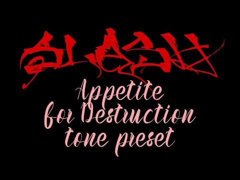 Hotone Ampero – Guns N' Roses – Appetite for Destruction preset (Slash)