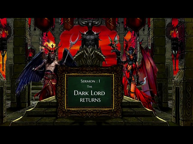 The Dark Lord VS Religion - Sermon 1 – The Dark Lord Returns