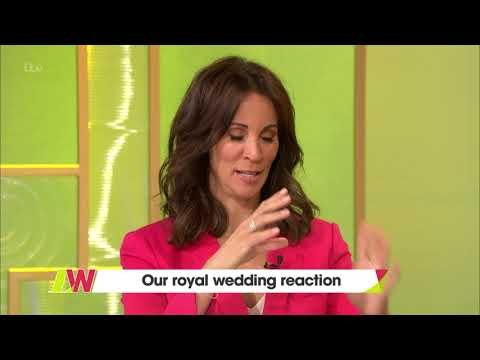 Andrea Got in on the Royal Wedding Spirit | Loose Women