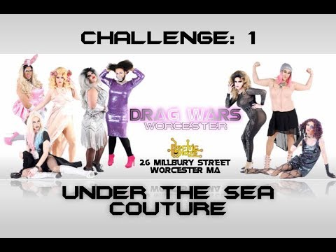 Drag Wars Worcester : Under The Sea Creature Couture