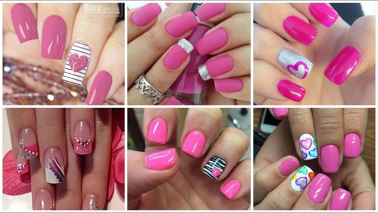 Most fabulous Valentine\u0027s day Nail Art designs/pink nail  polish/2020/valentine\u0027s day ideas