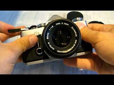 OLYMPUS OM Zuiko 50/1,8 AUTO S, OM mount, vintage lens.
