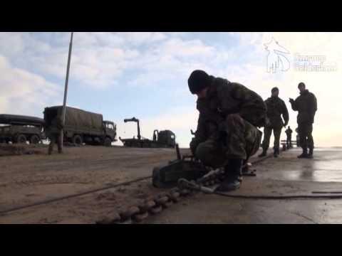 Militaire oefening tussen Tiel en Wamel