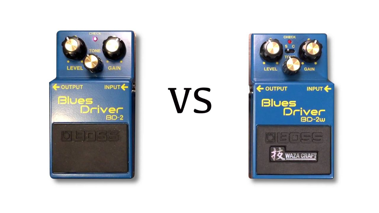 Blues Driver Waza Craft Vs Bd