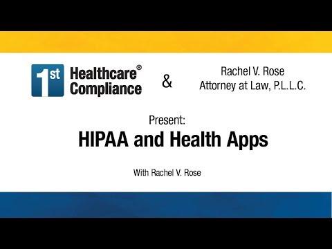 HIPAA And Health Apps