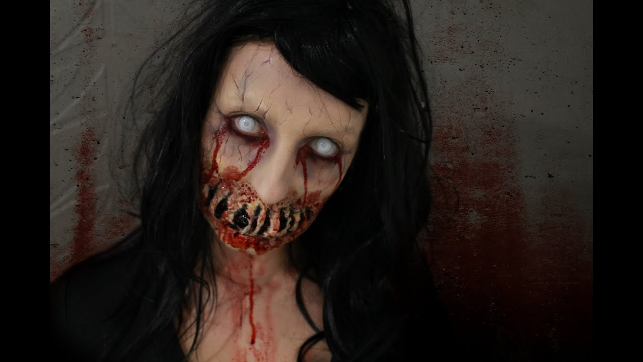 Maquillage zombie facile et rapide gallery of maquillage squelette pirate with maquillage - Maquillage zombie simple ...