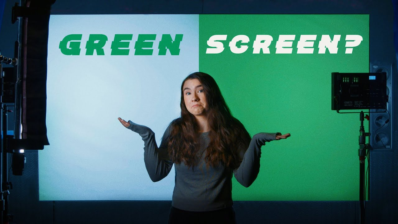 Green Screen Without a Green Screen