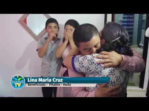 Entrega de viviendas y ayudas humanitarias - Dra. María Luisa Piraquive