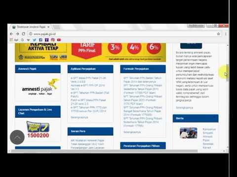 Tutorial E-SPT PPh Badan 1771 v1.2, OS Windows 32bit