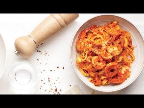 How to Cook Shrimp Vodka Pasta | MyRecipes