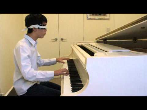 BLINDFOLDED Pirates of the Caribbean piano cover
