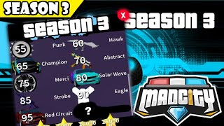 ⭐NEW SEASON 3! NEW REWARDS, MAP CHANGES... ⭐ | Mad City | Roblox
