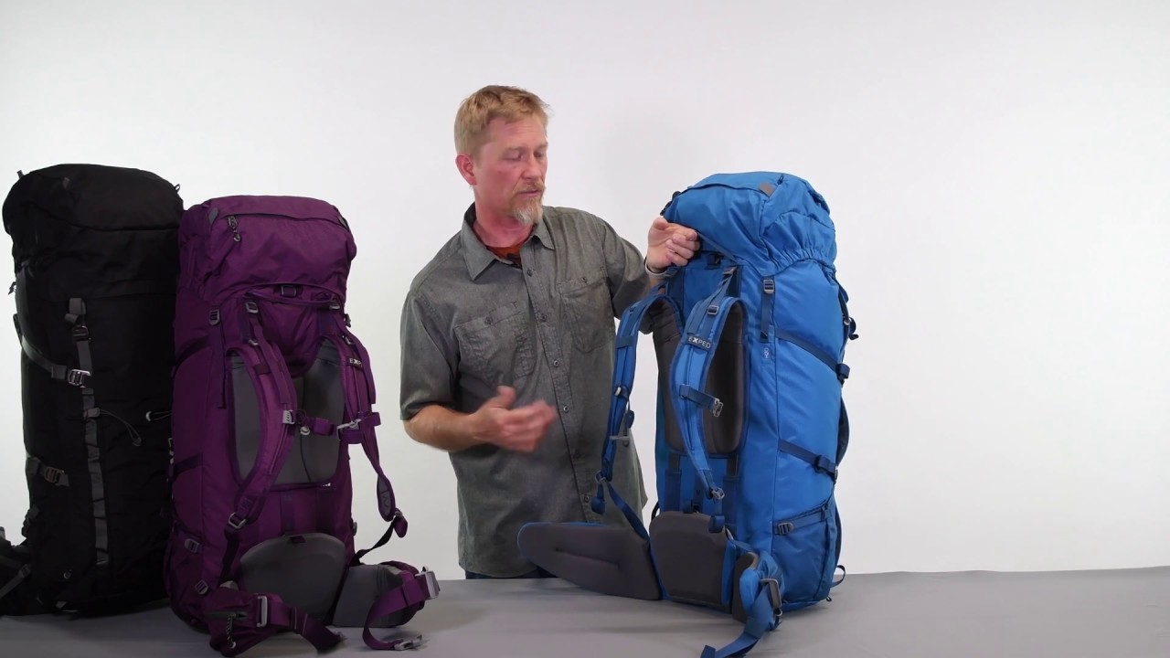 b78dd6108316 EXPED Explore Series Backpacks