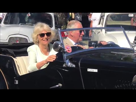 Prince Charles Takes Duchess Camila For A Spin In Classic 1953 MG TD Royal Visit Cuba 2019