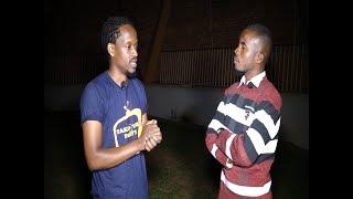 When Mc Ibrah Meets Long time friend Calvin Da entertainer in an Interview