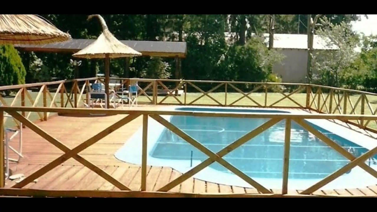 incom decopark cercos barandas para piscinas youtube