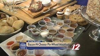 Cooking: Bacon-n-cheese Pinwheel Meatloaf