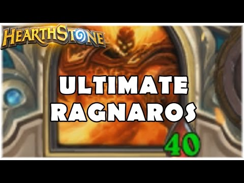 HEARTHSTONE - ULTIMATE RAGNAROS! (LIVRE QUEST EXECUTUS PRIEST)
