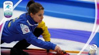 HIGHLIGHTS: Scotland v Sweden (Women) - Le Gruyère AOP European Curling Championships 2016