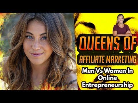 👑Queens Of Affiliate Marketing – Women Vs. Men In Online Entrepreneurship