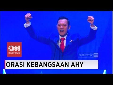 FULL Pidato Politik AHY di Rapimnas Partai Demokrat 2018, Sebut Jokowi & Pilpres 2019