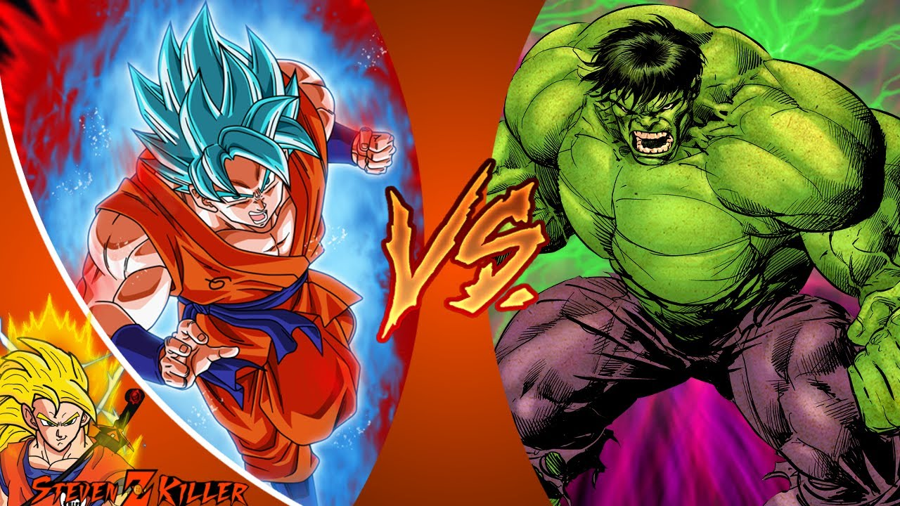 Goku vs hulk dragon ball z vs marvel cartoon fight club - Dragon ball z 187 ...