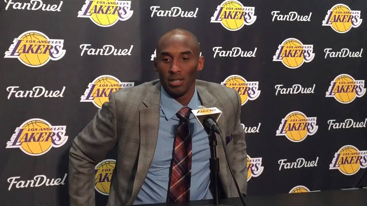 bf31f08d6b22 Watch Kobe Bryant announce his retirement