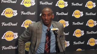 Watch Kobe Bryant announce his retirement, Part 1