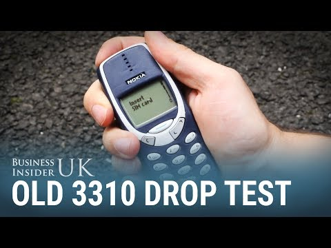 We Drop Tested The Old Nokia 3310 — And It Survived A Fall From A FourthStorey Window