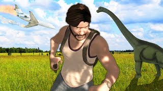 FRANEK, TY ĆPUNIE | Dinosis Survival #1 [PL]