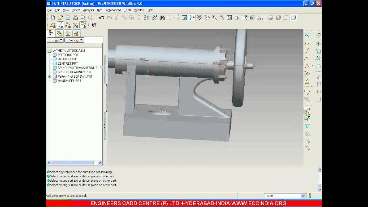 TAILSTOCK ASSEMBLY DRAWING EBOOK