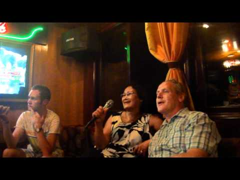 Karaoke in Halong Bay Vietnam