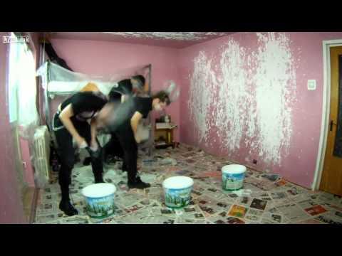 Heavy Metal Room Painting