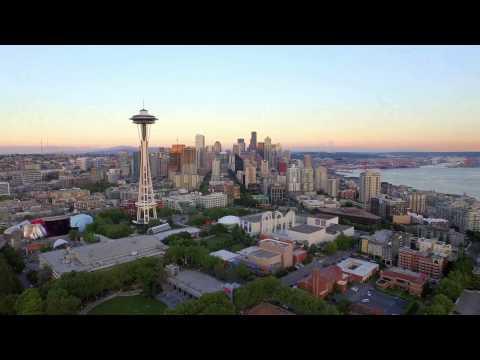 Seattle Skyline | 4k