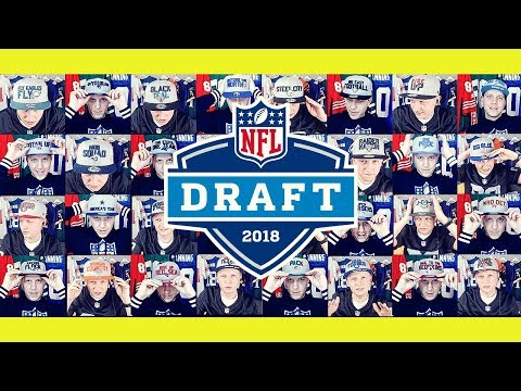 NFL DRAFT 2018 CAPS Review - alle 32 New Era Caps im Detail (mit Patrick von Topperz.eu)