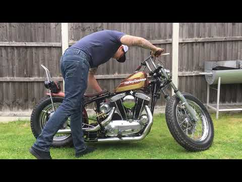 Ironhead Kickstart XLCH 900 Harley Davidson