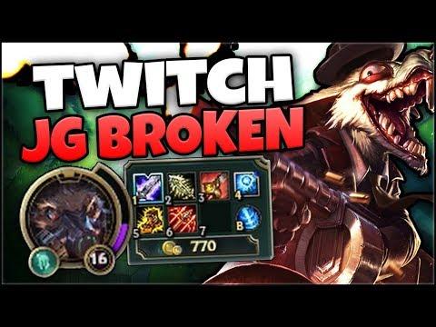 TWITCH JUNGLA 22/2 BROKEN O NO? PARCHE 7.20 - League of Legends