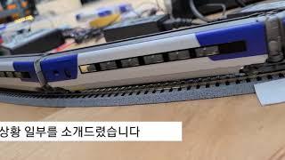 고속주행영상  고속열차  KTX고속기차 KTX산천고속열…