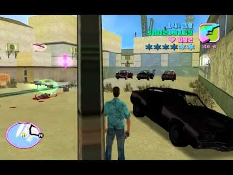 Gta Vice City Asset Mission - Printworks - 02 Hit the Courier.wmv