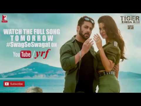 Swag Se Swagat Trailer | Tiger Zinda Hai | Salman Khan | Katrina Kaif