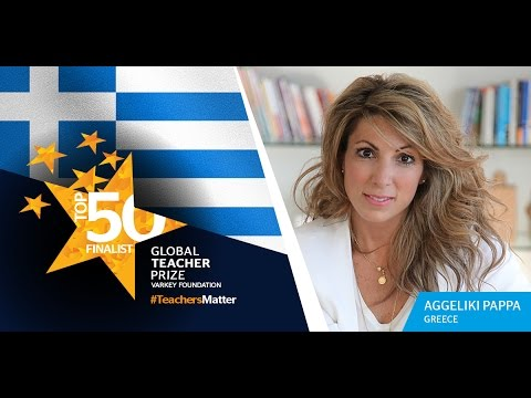 Get to know 2017 Global Teacher Prize Top 50 Finalist Aggeliki Pappa