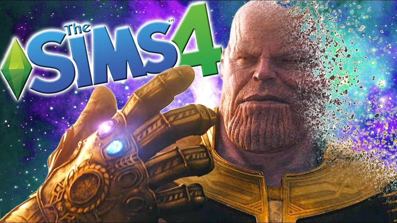 THANOS IS HERE & I Don't Feel So Good | The Sims 4: Memes Theme | Ep  15