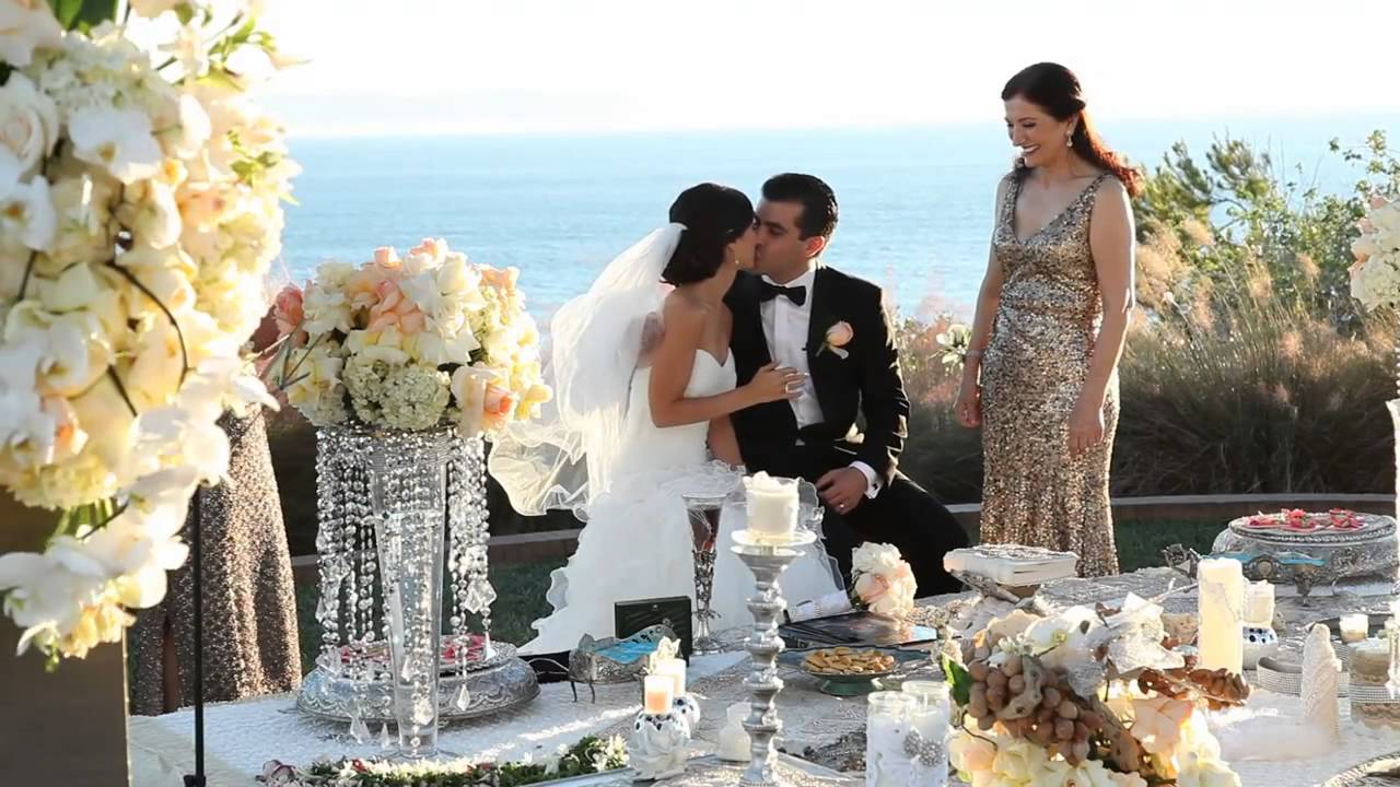 terranea resort wedding sher and al angela tam makeup and hair design team youtube